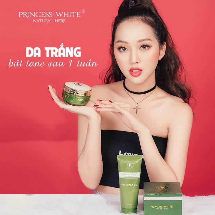 kem Green Tea princess white